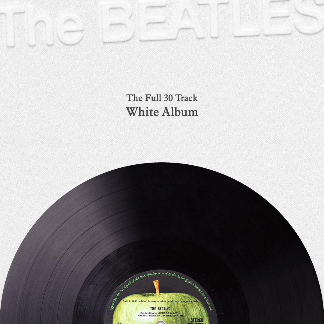 The Full 30 Track White Album